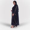 Habeebat Arva Black Abaya