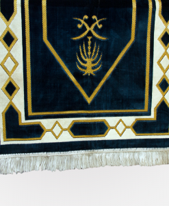 Habeebat Blue Gold Embroidery