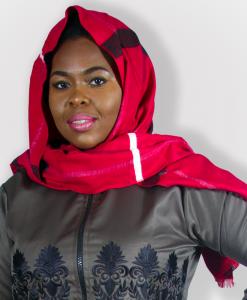Habeebat Zaaania Red Scarf