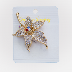 Habeebat Leaf Design Brooch