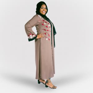Habeebat Falisha Open Abaya