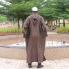 Habeebat Aquab Brown Stripe Jalabiya(2)