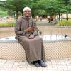 Habeebat Aquab Brown Stripe Jalabiya(4)