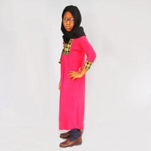 Habeebat_Pink_Lulu_Abaya