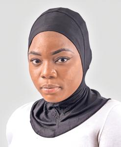 Habeebat Black Ranah Inner Hijab