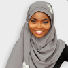 Habeebat Banujah Grey Hijab