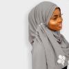 Habeebat Banujah Grey Hijab 2