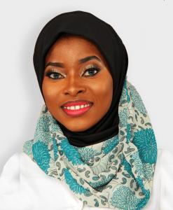 Habeebat Zeenia BlackGreen Instant Hijab