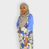 Habeebat Floral Tunic with Slits