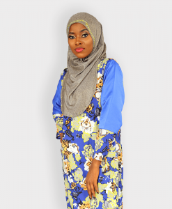 Habeebat Floral Tunic with Slits