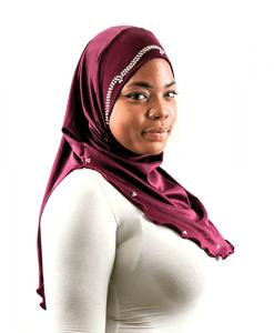 Habeebat Ifra Grey Hijab