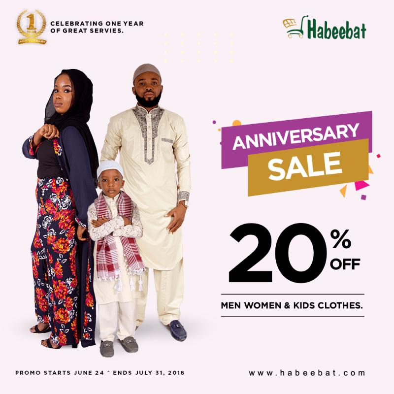 Habeebat Anniversary-sale