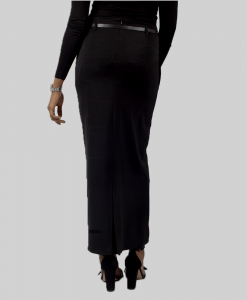 Habeebat_A-line_Black_pleated_Skirt
