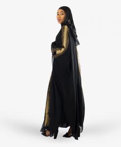 Habeebat Aabirah Women Hooded Abaya