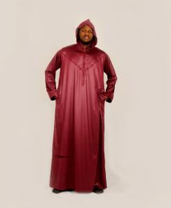Habeebat Aaqil Hooded Mens Jalamia