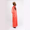 Habeebat Karan Orange Jalabiya with black designs