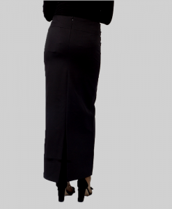 Habeebat_Bahameen_Black_Straight Skirt