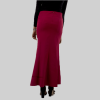 Habeebat Batool Wine Flared Skirt 2