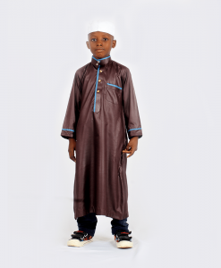 Habeebat Karan Boys Kaftan with Trousers