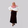 Habeebat Dark Chocolate Turkish Skirt
