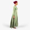 Habeebat Green Beaded Bridal Gown