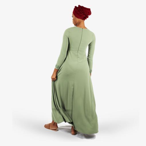 Habeebat_Green_Beaded_Bridal_Gown