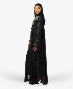 Habeebat Hanaiah Women Hooded Abaya