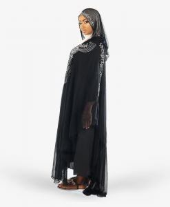 Habeebat Lalma Womens Hooded Abaya
