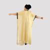 Habeebat Lina Golden Yellowish Beaded Kaftan