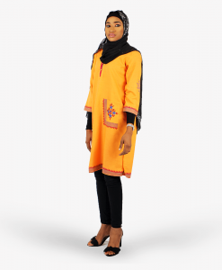 Habeebat_Orange_Tunic_shirt