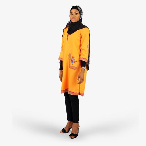 Habeebat_Orange_Tunic_shirt
