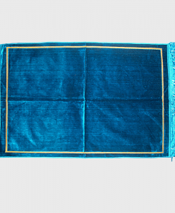 Habeebat_Plain_Blue_Prayer_Rug