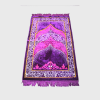 Habeebat Purple Lonira Prayer Rug
