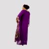 Habeebat Rimah Purple Kaftan