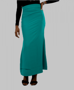 Habeebat Teal Green Flared Skirt