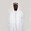Habeebat White Ghutra mens scarf