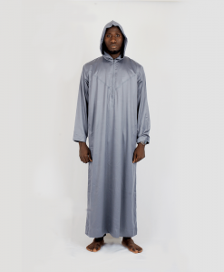 Habeebat_Grey_Hooded_Jalamia_with_v_design
