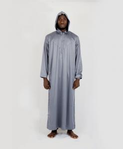 Habeebat_Grey_Hooded_Jalamia_with_v_design