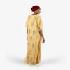 habeebat Aasma Gold Embroidery Kaftan 037C