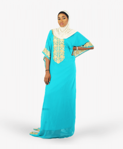 habeebat_Ahlam_Sky_blue_Kaftan