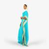 habeebat Ahlam Sky blue Kaftan 038B