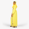 habeebat Hazeemah Embroidered Yellow Kaftan 030C
