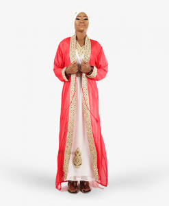 Hbeebat Labeebah_Red_2in1_Kaftan