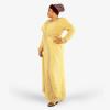 habeebat Mariam Gold Kaftan 027B