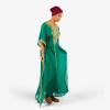 habeebat Muinah Green Kaftan024B