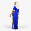 habeebat Rahma Blue Kaftan 035A