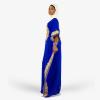 habeebat Rahma Blue Kaftan 035C