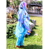 HABEEBAT Aasma Blue Indian Abaya (3)