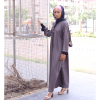 HABEEBAT A'dah brown Abaya (2)