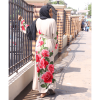 HABEEBAT Fathia Flowery Abaya B